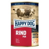 Happy Dog Canned Rind Pur Beef 400g