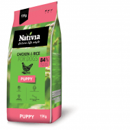Nativia Dog Puppy 15kg + dostawa gratis