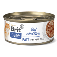 Brit Care Cat con Paté Beef & Olives 70g