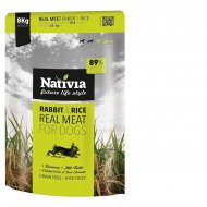 Nativia Real Meat Rabbit & Rice 8kg + dostawa gratis