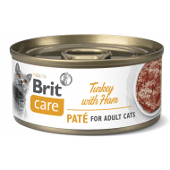 Brit Care Cat con Paté Turkey & Ham 70g