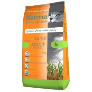 Nativia Cat Adult Duck & Rice Hairball 10kg + dostawa gratis