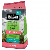 Nativia Puppy Lamb & Rice 15kg+ dostawa gratis