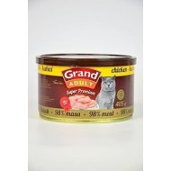 GRAND Konserwy Superpremium Cat Chicken 405g