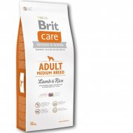 Brit Care Dog Adult Medium Breed Lamb & Rice  + dostawa gratis