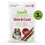 Canvit Snacks Skin & Coat 3 x 200g