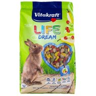 Vitakraft Rodent Rabbit Food Life Dream 600g