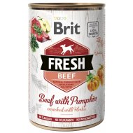 Canned Brit Dog Fresh Beef with Pumpkin 400g