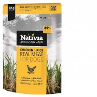 Nativia Real Meat Chicken & Rice 8kg + dostawa gratis