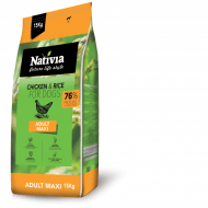 Nativia Dog Adult Maxi 15kg + dostawa gratis