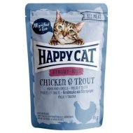 Pocket Happy Cat ALL MEAT Adult Sterilised Huhn & Forelle 85g