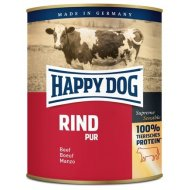 Happy Dog Canned Rind Pur Beef 800g