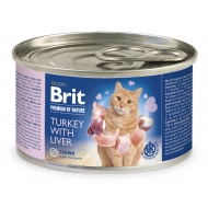 Brit Premium Cat by Nature oraz Turkey & Liver 200g