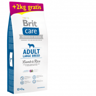 Brit Care Dog Adult Large Breed Lamb & Rice 12kg + 2kg Gratis