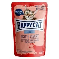 Pocket Happy Cat ALL MEAT Adult Rind & Herz 85g
